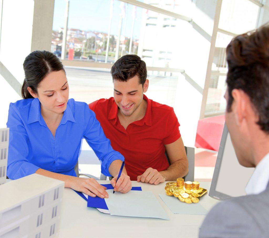 Погашение задолженности в офисе