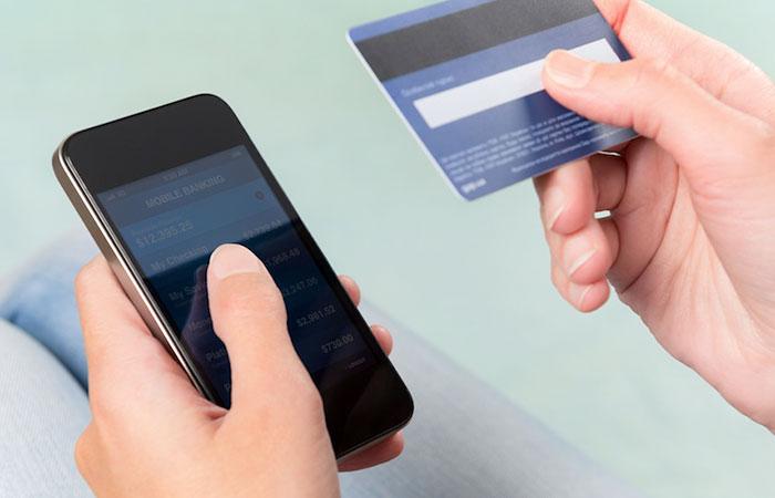 Привязка карты через мобильное приложение в Манимен