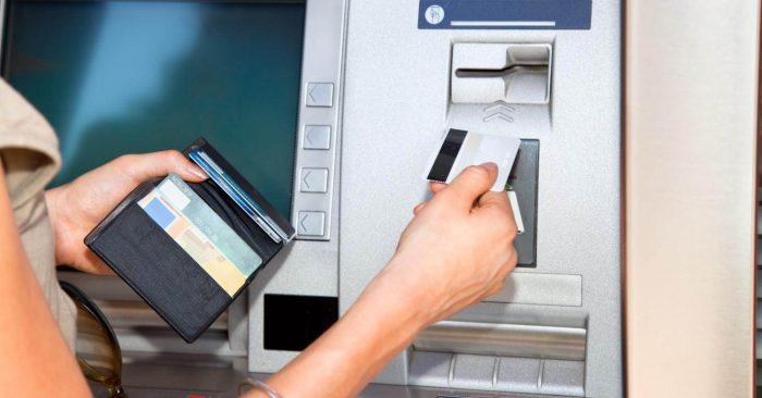Оплата займа через банкомат