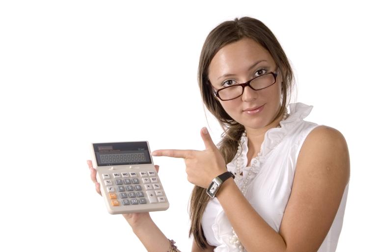 Калькулятор по кредитам на сайте Тинькофф