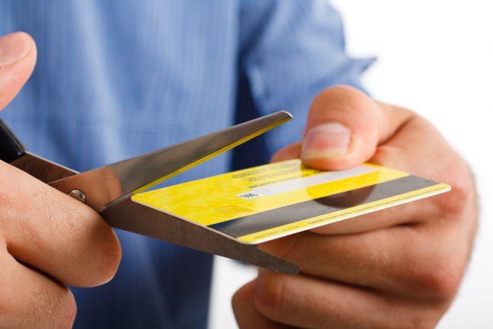 Аннулирование кредитной карты
