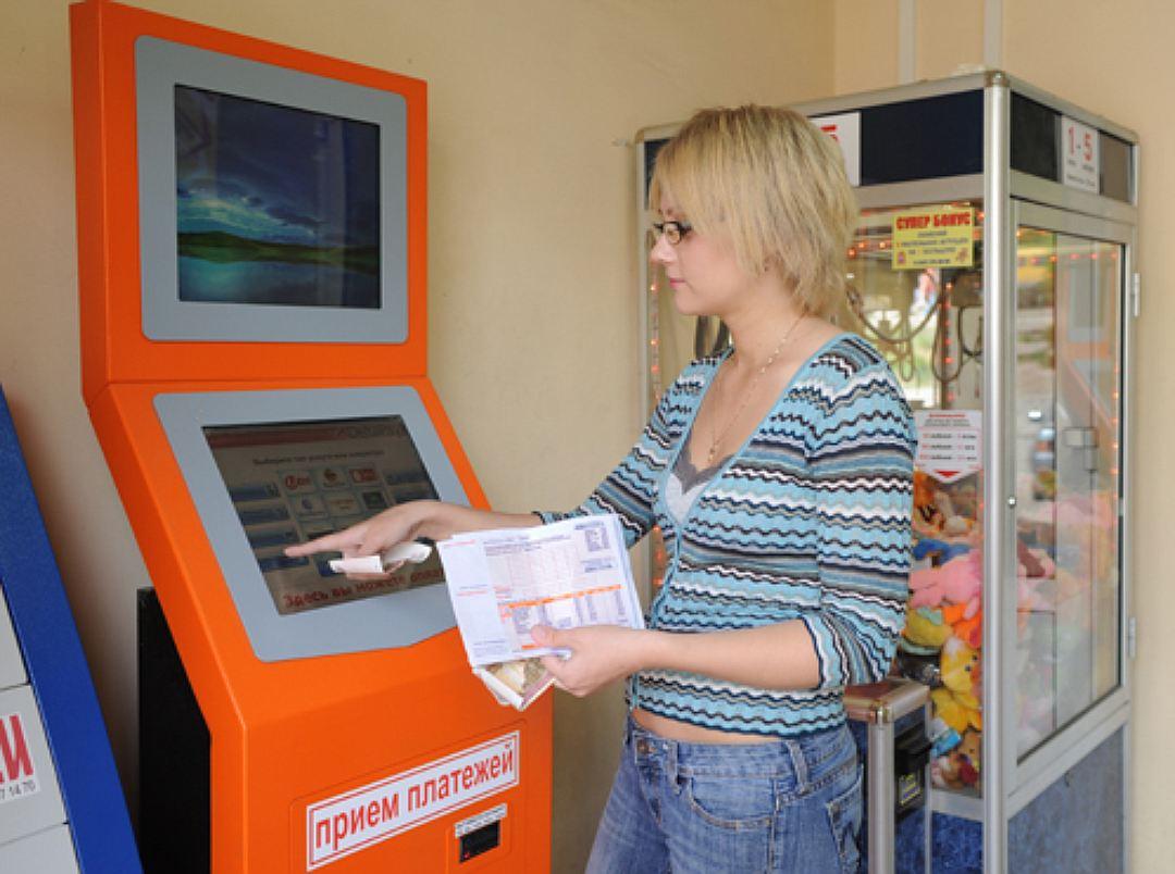 Оплата долга через терминал