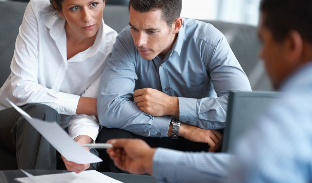 Консультация со специалистами банка